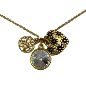 CHARMING INSPIRATIONS Mom Gold-Plated Necklace New
